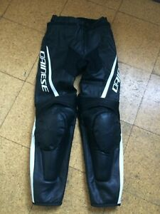 Dainese Leather Pants Trousers Assen Ladies Size 42 EU