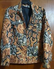 Chico's Size 3 ( XL) Long Sleeve, Snake Print, Fully Lined, Zip Front Jacket