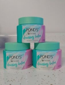 (New) Pond's Cleansing Balm Cold Cream Cleansing Balm 3.38 fl oz Ea (Pack of 3)