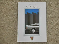 * Rover 1988 brochure Today's Cars * Metro Montego Maestro 800 Mini