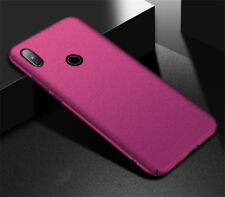 For Xiaomi Pocophone F1 A2 A1 Shockproof PC Hard Slim Back Sandstone Case Cover