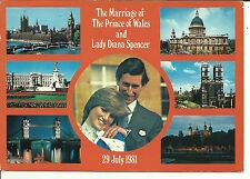 Marriage of The Prince of Wales & Lady Diana Spencer - with commemorative stamp