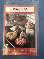 Pieced Pincushions Pattern Indygo Junction by Susan Gower