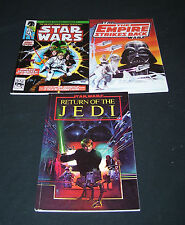 STAR WARS TRILOGY 3 GRAPHIC NOVELS / COMIC BOOKS A NEW HOPE EMPIRE  RETURN JEDI