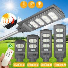 240/320LED Solar Street Light Motion Sensor Outdoor Wall Lamp Garden + Remote