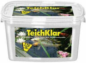 10kg Eimer Zeolith Teichklar biolog. Algenentferner Algenmittel gegen Fadenalgen