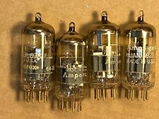 4 Vintage 1964/66 Amperex 6922 Tubes test great balanced Gold Pins USA