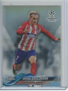 2017-18 Topps Chrome UEFA Refractor #51 Antoine Griezmann Atletico