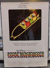COOL RUNNINGS Original Cinema Poster, 1993
