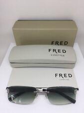 New Fred LUNETTES Sunglasses Luxury Rimless Hawaii F1 Sunglasses C. 108 Python