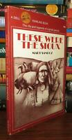 Sandoz, Mari THESE WERE THE SIOUX  1st Edition Thus 5th Printing