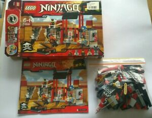 LEGO 70591 NINJAGO Kryptarium Prison Breakout  COMPLETE