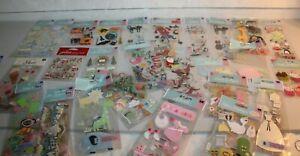 Lot 39 New NOS Jolee's Boutique Scrapbook Sticker Embellishment Sets Princess