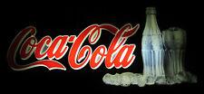 VINTAGE OLD COCA COLA ADVERTISING ADVERTISEMENT BAR DEKOR LIGHTED SIGN 63x29cm!!