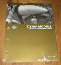 2007 Harley Davidson Dyna Parts Catalog Manual_Wide Super Glide Street Bob_New