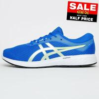 Asics Patriot 11 Mens Running Shoes Fitness Gym Workout Trainers Blue
