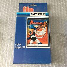 Vintage#MUPI MAZINGA Z n. 5 il mostro gladiatore - COLOR SUPER 8 CASSETTE