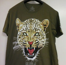 Entree LS Authentic Mens Cougar T Shirt Army Green Size XL