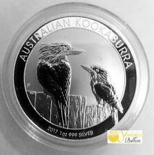 2017 Australia 1oz Silver Kookaburra