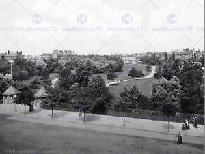 SKEGNESS GARDENS AND PAVILLION ENGLAND OLD BW PHOTO PRINT POSTER 1756BWB