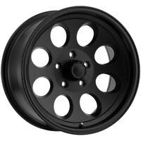 "Ion 171 15x8 5x4.5"" -27mm Matte Black Wheel Rim 15"" Inch"