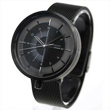 2019 New!! ISSEY MIYAKE 1/6 Nao Tamura NYAK001 Mechanical Men's Watch Black NEW