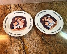 Erika Oller Dessert Salad Plates People of the Kitchent House of Prill
