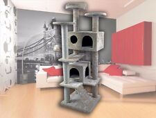 50''Cat Tree Kitty Tree Condo Furniture Scratch Post Pet Play House for Training