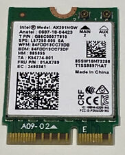 More details for wifi 6 ax201ngw intel ax201 dual band ngff wireless card 802.11ax e slot -w59