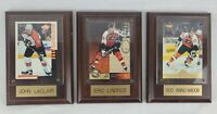PHILA FLYERS - ERIC LINDROS brind'amour John LeClair hockey cards in displays