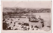 Isle Of Bute; Rothesay RP PPC, 1907 PMK, Shows Steamer at Landing Stage