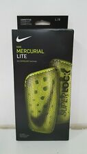 Nike Mercurial Lite Adult Small Green And White (Missing Shin Sleeves)