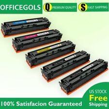 5P for HP LaserJet Pro M254dw M281cdw M281fdw MFP Color Toner CF500X 202X ink