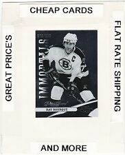 2012-13 CERTIFIED Immortals RAY BOURQUE (Bruins)  #/999