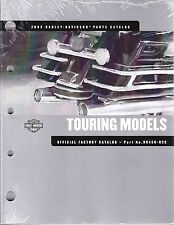 2002 Harley Touring Electra Glide Classic Ultra King Street Parts Manual Catalog