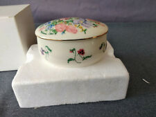 Lenox 1998 The Flower Blossom Music Box Musical Trinket Box by Suzanne Clee