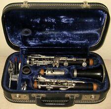 Vintage EVETTE Buffet Paris Crampon Wood Bb Clarinet SN D16951 With Orig Case