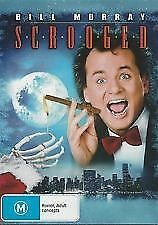 SCROOGED - BRAND NEW & SEALED R4 DVD (BILL MURRAY) CHRISTMAS COMEDY