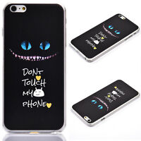 MDWH Hard PC Cover Case For Apple iPhone 7 Plus 6S 6 Plus Galaxy S6 Edge S7 Edge