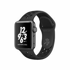 Apple Watch Nike+ 38mm Space Gray Aluminum Case Anthracite/Black Sport Band - (MQ162LL/A)