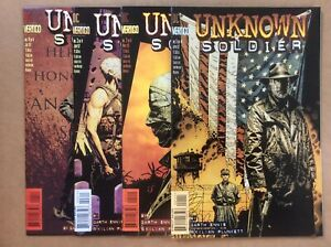 Unknown Solider 1-4 Vertigo 1997 Complete
