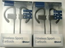 2 Pack Wireless Bluetooth Sport Earbuds for Iphone, android, Insignia