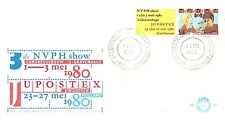 E184 First Day Cover Netherlands 1980 Filatelie (1201)