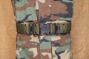 Mint US Military USGI LC-3 Pistol belt large OD Green belt individual equipment