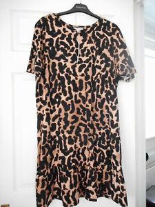 BNWT Red Herring Animal Print Dress Size 20