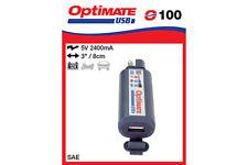 MOTO OptiMate Chargeur USB avec Batterie Moniteur SAE connecteur (nº 100) 2400 mA