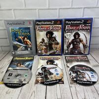 Prince Of Persia (PAL) Sony Playstation 2 (PS2) Bundle Complete With Manuals