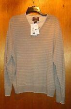Cashmere V Neck Sweater Mens 100% Cashmere Twine Heather XL NWT $225