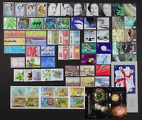 GR. BRITAIN 2002 Complete Commemorative Year, 12 sets + 2 S/S, 68 stamps MNH
