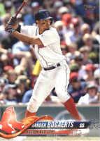 2018 Topps Baseball #502 Xander Bogaerts Boston Red Sox